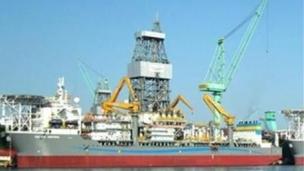 ltra-Deepwater drillship Scirocco