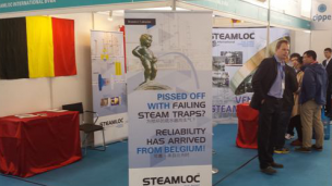 Steamloc 2014 stand at CIPPE