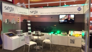 Orga Offshore stand at OTC2014
