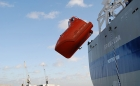 Vanguard's hyperbaric lifeboat sails to Singapore