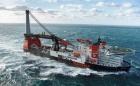 The new HMC DCV vessel, Aegar