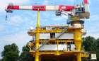 RL 1500-20 Litronic: Ram luffing crane