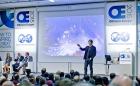 Professor Brian Cox speaking at SPE 2015