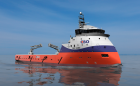 The Brazilian ship owner CBO has ordered a design and equipment package for a platform supply vessel (PSV) of the PX105 type from Ulstein