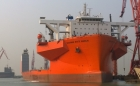 Royal Boskalis Westminster has announced that the Dockwise vessel White Marlin was named and christened during a festive ceremony in Guangzhou, China