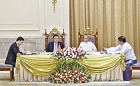 CNPC boosts collaboration in Myanmar