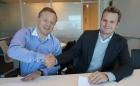 Tor Olav Schibevaag, eDrilling's CEO and Stian Brekke, CEO of Netscenario