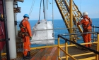 J D Neuhaus hoists facilitate crane repairs on offshore platform