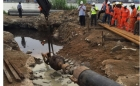 Victoria lays gas pipeline under Wouri River in Cameroon