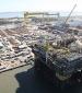 P-55 at the Rio Grande shipyard. Copyright: Agência Petrobras