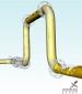 A CFD simulation of slug flow through the JIP rig with an upstream U bend
