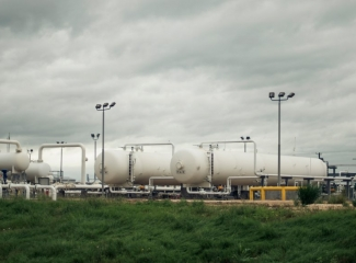 Eagle Ford production site in Texas.