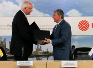Rosneft and PDVSA sign major collaboration agreements to boost Venezuela's oil production