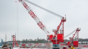 Second crane approved for Shell, BP, Chevron UK project