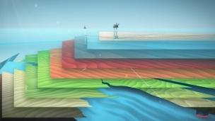 Netscenario's 3D visualisation platform, GeologiQ