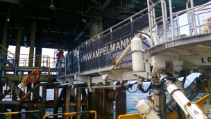 L-type gangway systems