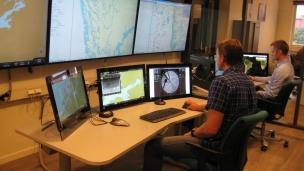 Aptomarin marine control center in Trondheim, Norway