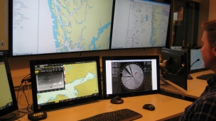 Aptomar 24/7 maritime control center