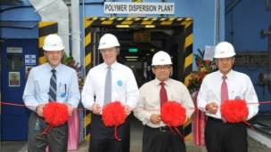 BASF is further strengthening its production footprint in Asia Pacific with the start-up of its first production plant for polymer dispersions in Pasir Gudang, Malaysia