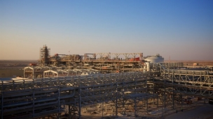 BP Khazzan project Oman