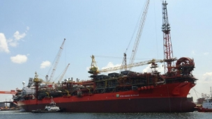 China-Brazil FPSO conversion project completed