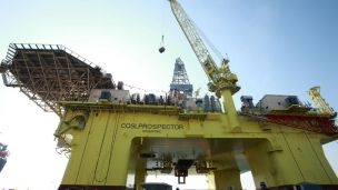 COSL completes first offshore drill with self-development rotary drilling system