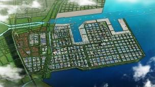 A giant petrochemical park