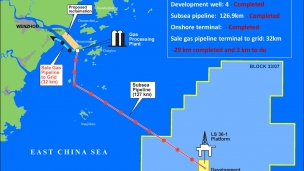 CNOOC and Primeline begin production tests at LS36-1 well offshore China