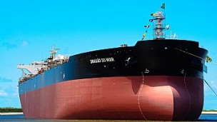 New Petrobras oil tanker out to sea