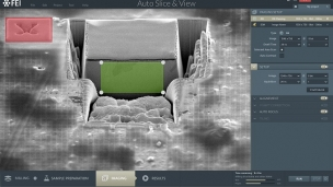 Auto Slice &View three-dimensional (3D) reconstruction software