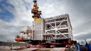 First UK built oil platform in 25 years to set sail for North Sea