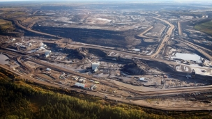 Fort Hills oil sands mining project