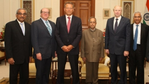 BP board meets in energy-rich India