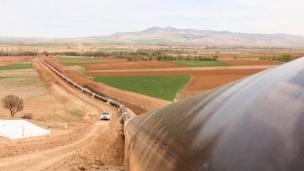 Major gas pipeline opens in Turkey