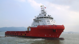 Nam Cheong Limited has announced that it has sold four OSV vessels worth approximately USD 90m; one PSV, one AWV and two AHTS