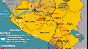 Odebrecht and Enagás awarded 1000km Peru pipeline contract