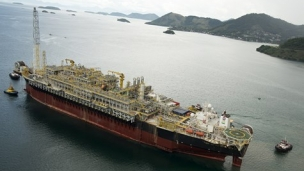 Petrobras starts production on platform P-62 in the Campos Basin's Roncador field