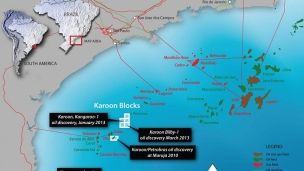 Karoon contracts semisub drilling rig for Santos Basin operations