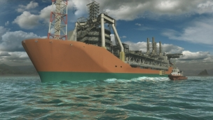 The design for the new FPSO