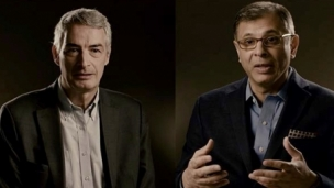 Girish Nadkarni, CEO of TEV, and Bertrand de La Noue, Country Chair, China