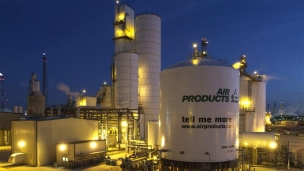 Air Products has been awarded a contract by Saudi Aramco under a joint venture of Air Products and ACWA Holding to build, own and operate the world's largest industrial gas complex to supply 75,000 metric tons per day (20,000 oxygen and 55,000 nitrogen) to Saudi Aramco's refinery being built in Jazan, Saudi Arabia for 20 years