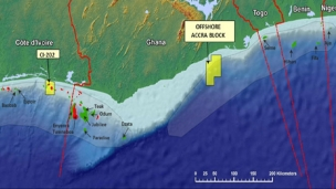 Azonto has decided not to continue with its deepwater exploration acreage in the Offshore Accra Block, Ghana, as a result of a continued strategic review of its operations and prolonged discussions with the government of Ghana and potential partners
