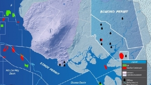 Bowleven has announced encouraging progress at its two-well exploration drilling programme on the Bomono Permit onshore Cameroon