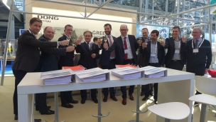 Jan De Nul Group has today signed an agreement with DONG Energy for the installation of subsea export cables at the Race Bank offshore wind development project in UK during 2016 and 2017