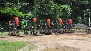 Leni completes logging at fourth Goudron well and prepares to drill the fifth