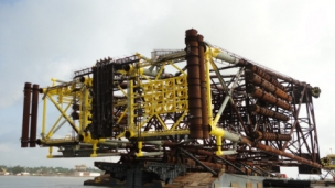 McDermott International has announced that Derrick Barge 50 (DB50) has recently completed the installation of a drilling and production platform in the US Gulf of Mexico continental shelf that included the heavy lift of a 3,250-ton jacket