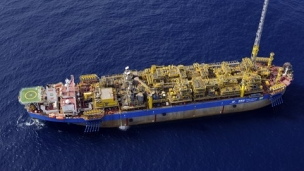 Petrobras output from the Santos and Campos basin pre-salt clusters reached record levels in February