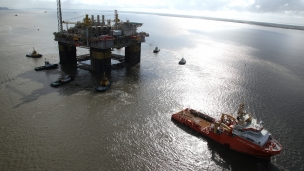 Petrobras has announced the discovery of new oil accumulations in concession BM-C-35 (exploratory block C-M-535), located in the Campos Basin post-salt layer