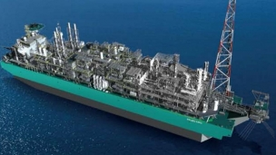Petronas lifts first topside module in FLNG project