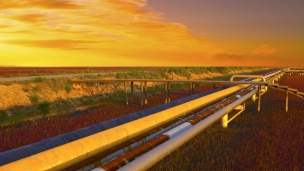 Line C of the Central Asia-China gas pipeline comes online